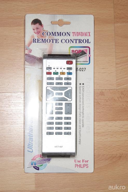 Dálkový ovladač PTW Philips LCD UCT-027 1683701 1683706