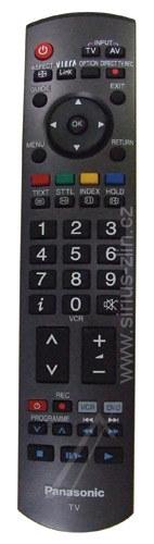 Dálkový ovladač PTW Panasonic EUR7737Z50 VIERA LCD PLAZMA Q-Link SD card