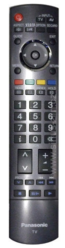 Dálkový ovladač PTW Panasonic N2QAYB000181 VIERA LCD PLAZMA Q-Link SD card