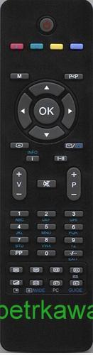 Dálkový ovladač PTW Orava RC1205 RC 1205 RC5010-11