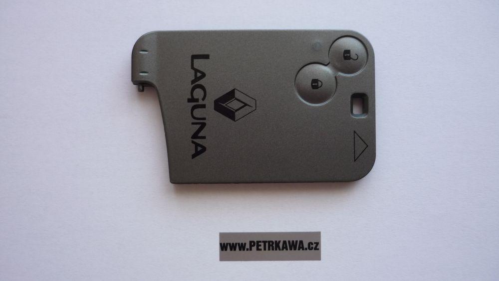 Obal klíče klíč PTW Karta Renault Laguna