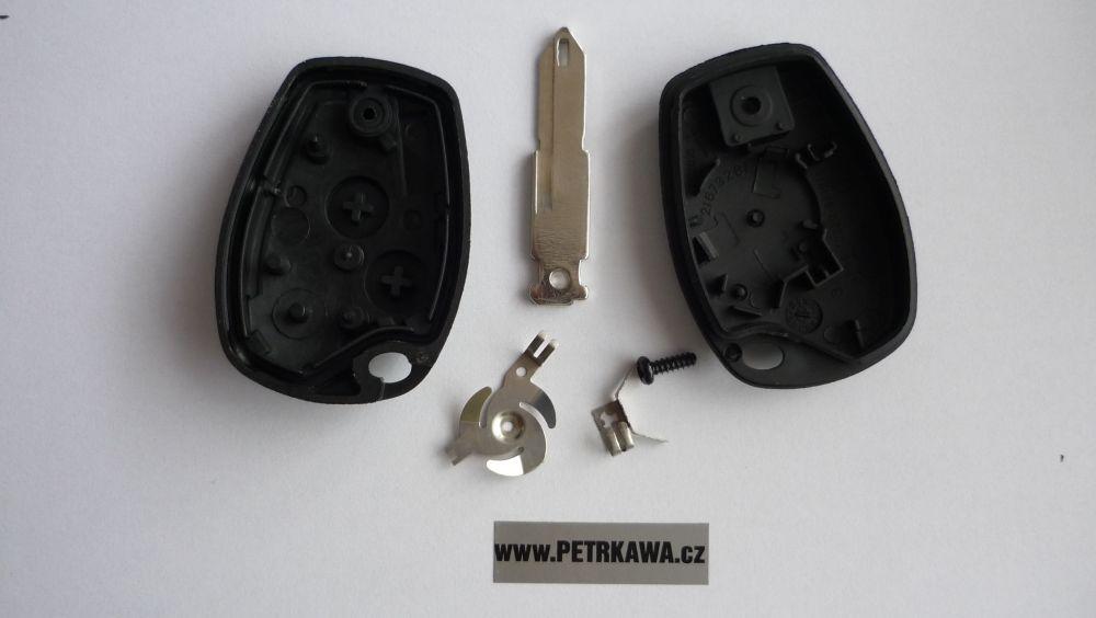 Obal klíče klíč PTW Renault RENAULT TRAFIC MASTER KANGOO