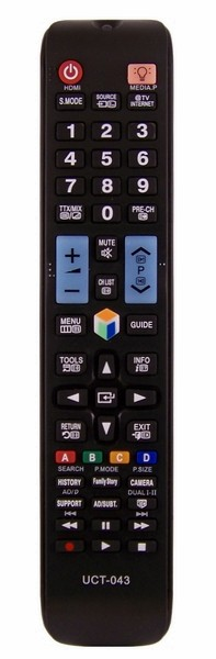 Dálkový ovladač PTW Samsung AA59-00582A AA59-00638A AA59-00622A LED 3D INTERNET SMART