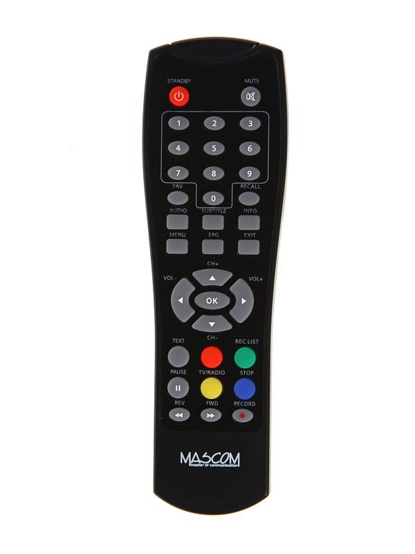 Dálkový ovladač PTW Zircon T -eco T Premium DVB-T