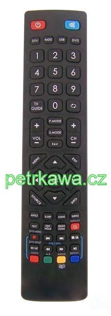 Dálkový ovladač PTW Blaupunkt BLA-32 BLA-46 BLA42188N 100% kvalita