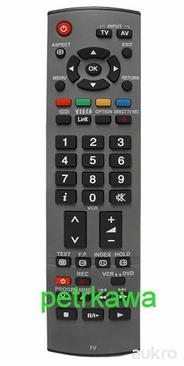 Dálkový ovladač PTW Panasonic EUR765110 EUR7651120 VIERA LCD PLAZMA