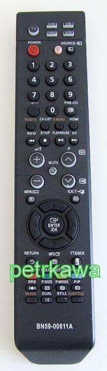 Dálkový ovladač PTW Samsung BN59-00611A 100% kvalita AKCE !!!