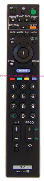 Dálkový ovladač PTW Sony RM-ED011 RMED011 ČERNÝ 100% AKCE !!!