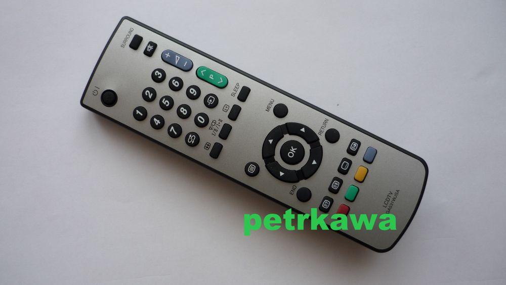 Dálkový ovladač PTW Sharp GA531WJSA GA 531WJSA LCD