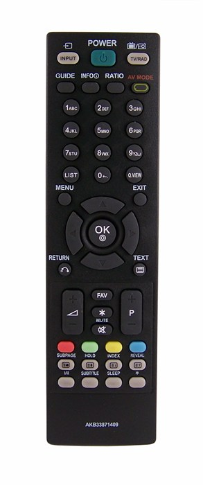 Dálkový ovladač PTW Lg AKB33871409 100% kvalita !!!