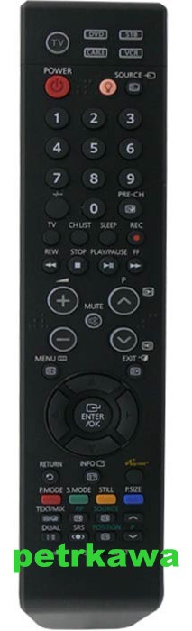 Dálkový ovladač PTW Samsung BN59-00602A BN5900602A Lcd Plazma