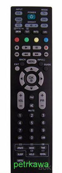 Dálkový ovladač PTW LG MKJ32022813