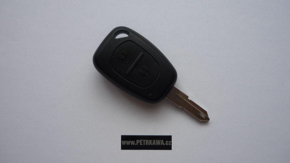 Obal klíče klíč PTW Renault MASTER TRAFIC KANGOO