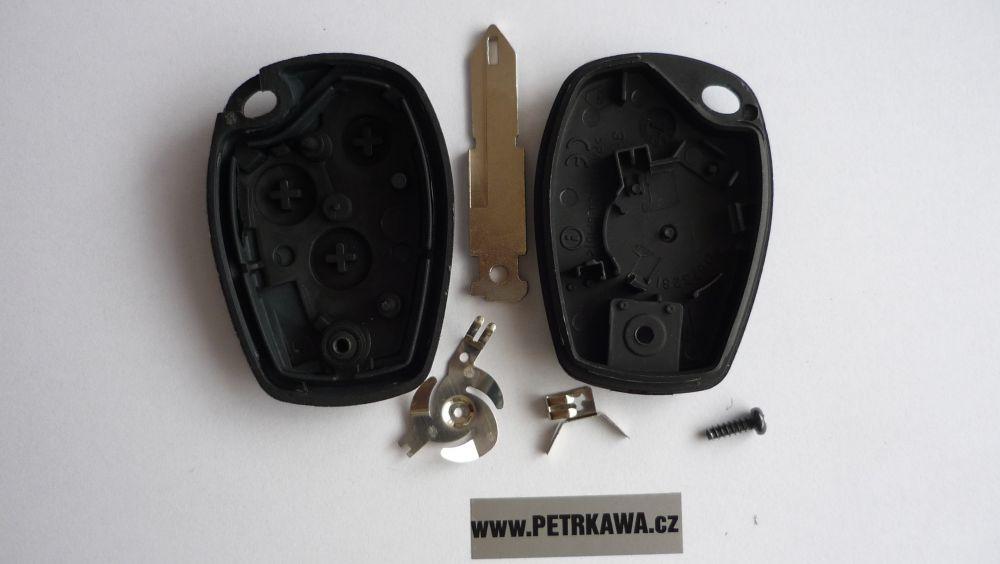 Obal klíče klíč PTW Renault TRAFIC MASTER KANGOO