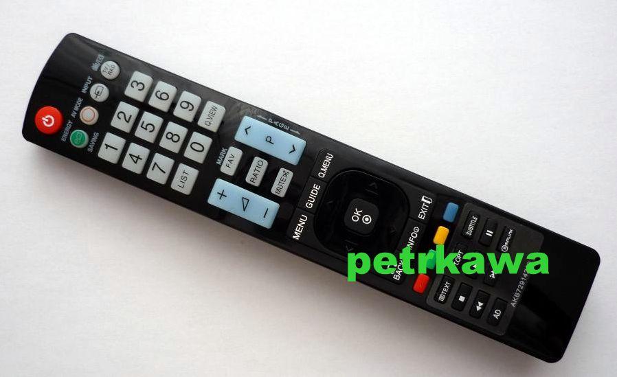 Dálkový ovladač ptw LG AKB72914209 100% kvalita !!!