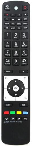 Dálkový ovladač Finlux RC5112 LCD LED TV Originál