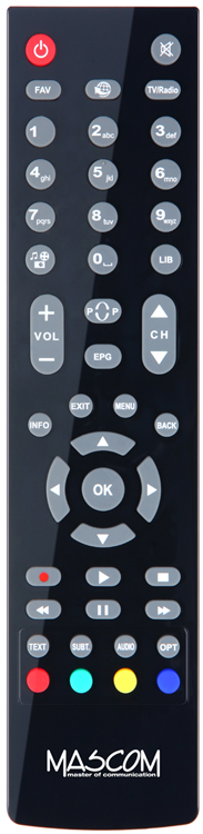 Dálkový ovladač ptw Mascom MC2350HD MC 2350