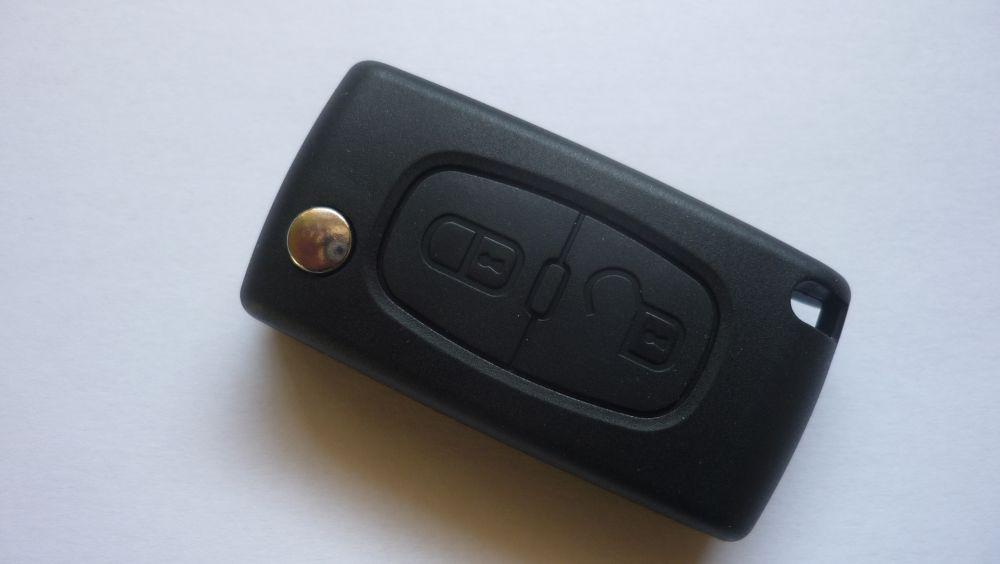 Náhr. obal Peugeot 207 307 308 - 2 tlačítka - kvalitní !!! 100%