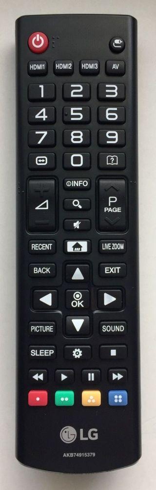 Dálkový ovladač LG AKB74915379 Smart lg 2012-2017 ovládá