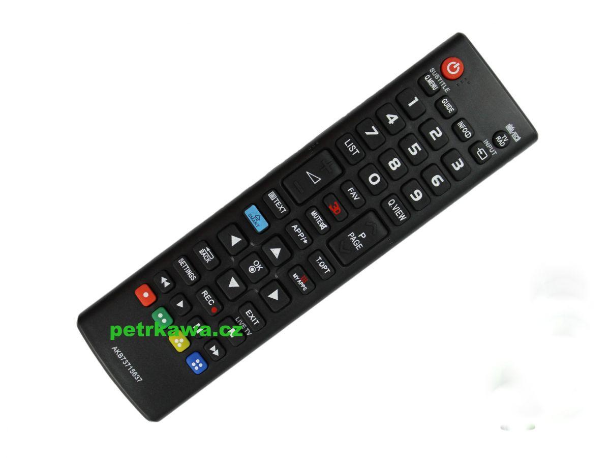 Dálkový ovladač ptw LG AKB73715637 SMART MY APPS 3D 100%